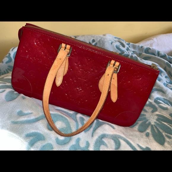 Louis Vuitton Bags Red Patent Leather Handbag Poshmark
